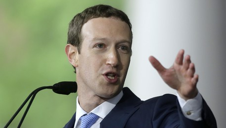 Mark Zuckerberg (archivio)(ANSA)